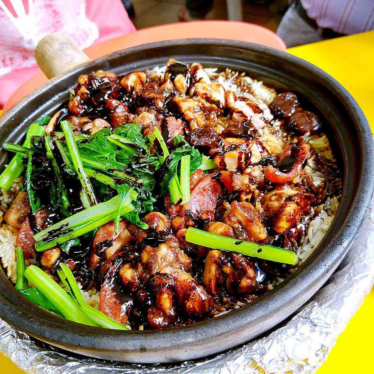 Claypot Dishes - Yew Chuan Claypot Rice
