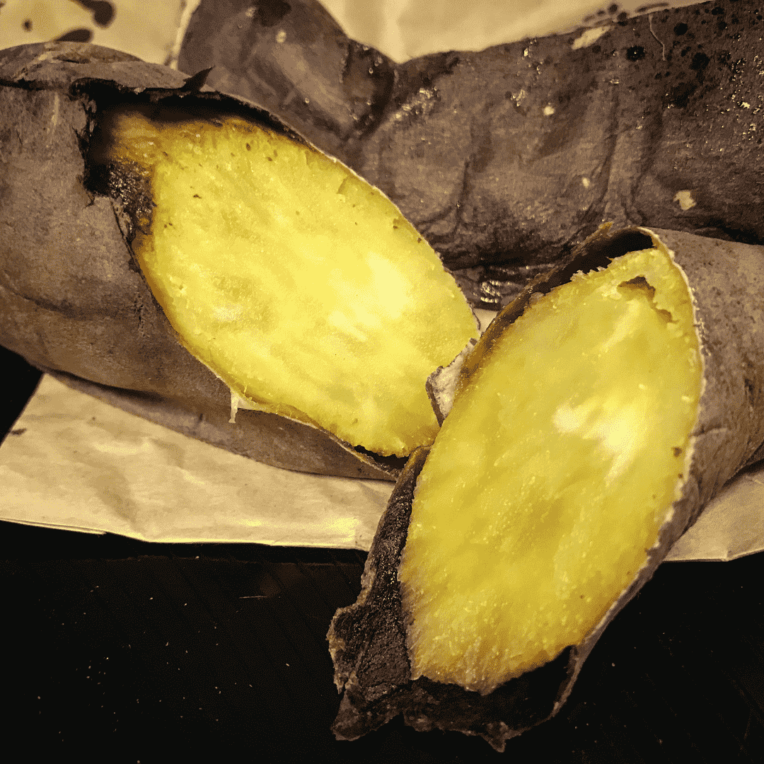 Don Don Donki Sweet Potato Milkshake baked sweet potato-min