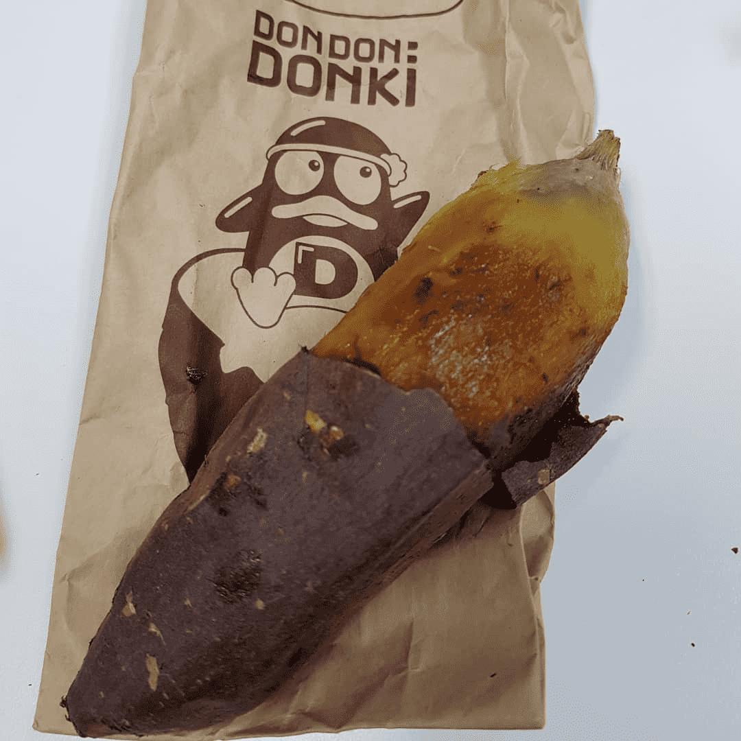 Don Don Donki Sweet Potato Milkshake whole baked potato-min