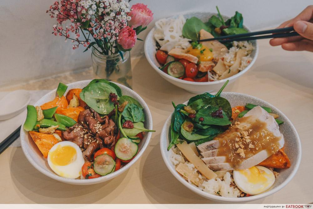 Haru rice bowls