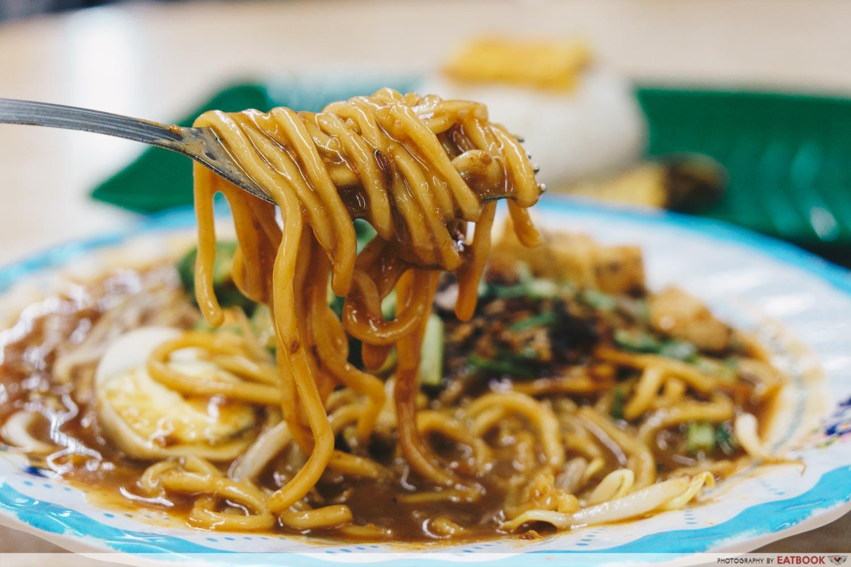 Kedai Makan Muhajirin Mee Rebus Closeup
