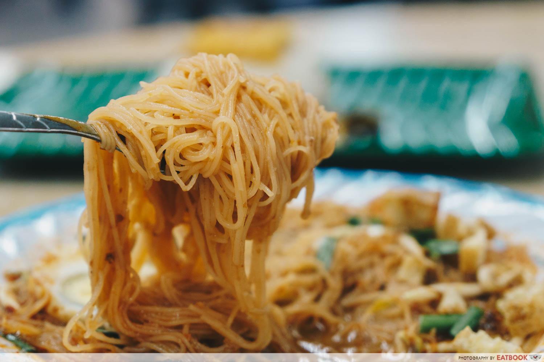 Kedai Makan Muhajirin - Mee Siam Closeup