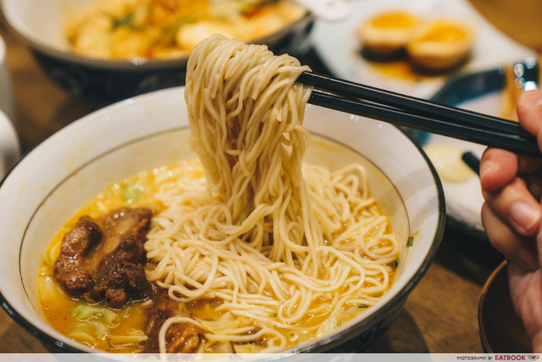 Le Shrimp Ramen - La Mian Noodles
