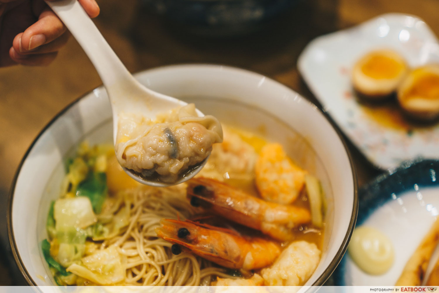 Le Shrimp Ramen - Prawn Dumplings