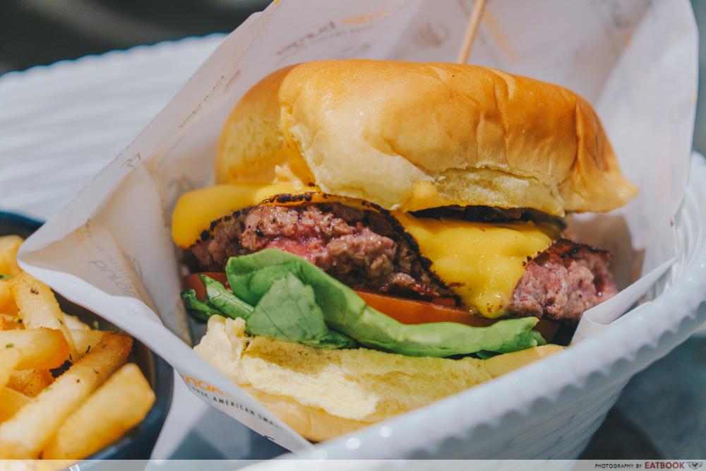 Picnic Buffet Omakase Burger