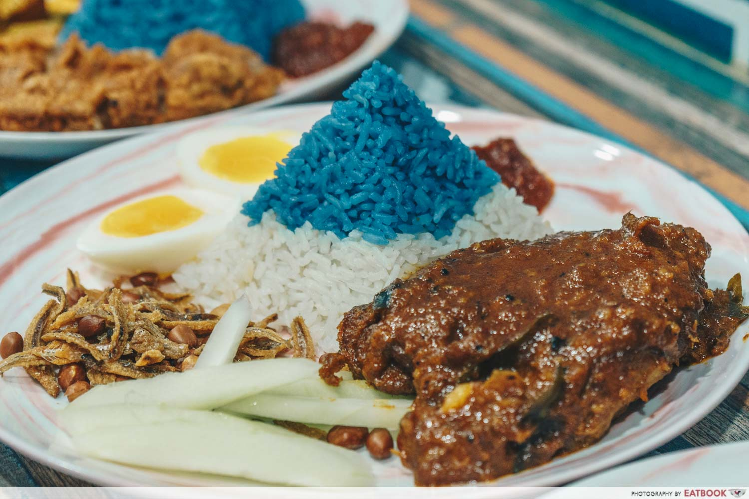 Simple - Nasi Lemak Rendang Chicken