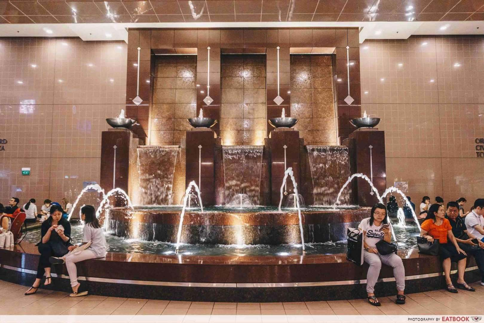 Takashimaya Food Hall Fountain