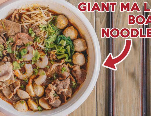 The Thai Society Ma La Boat Noodles cover