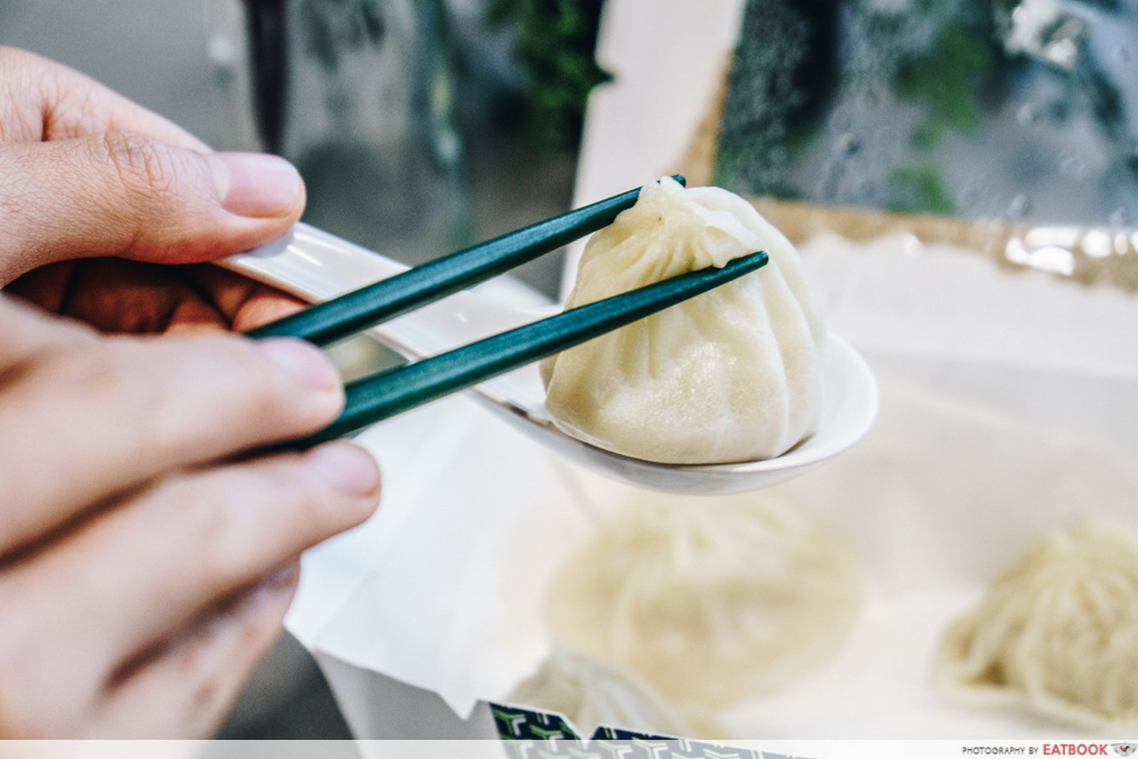 Unique GrabFood Crystaljade La Mian Xiao Long Bao