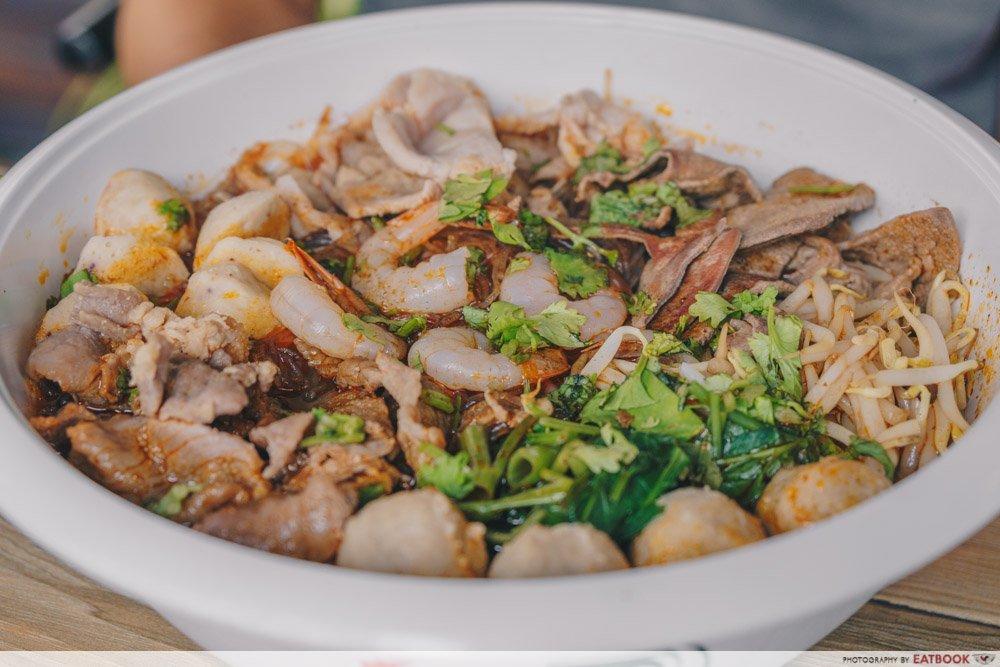 The Thai Society Ma La Boat Noodles 2nd bowl