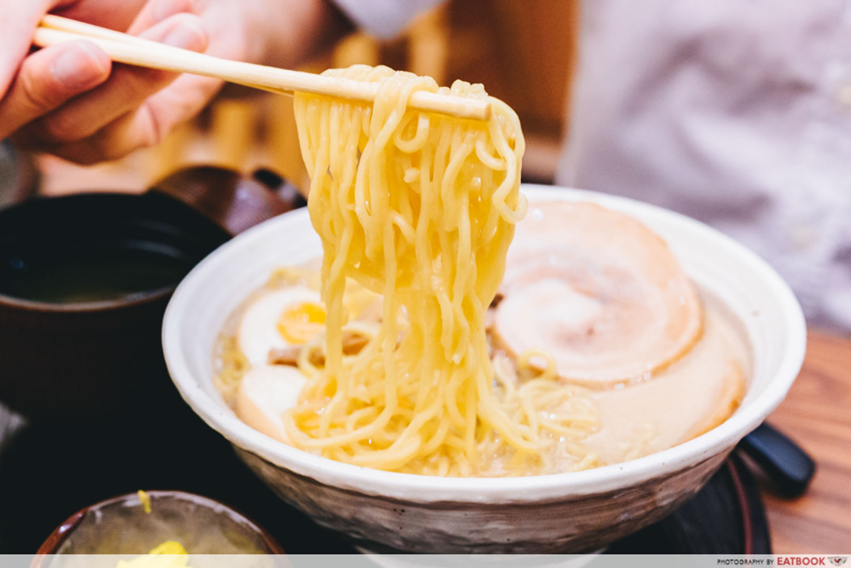 Aburi EN - Ramen Noodles Close Up