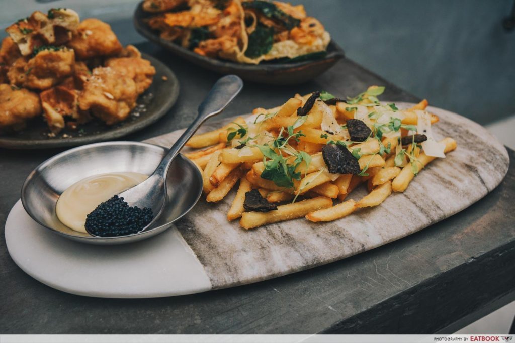 Almost Famous Luxury Fries