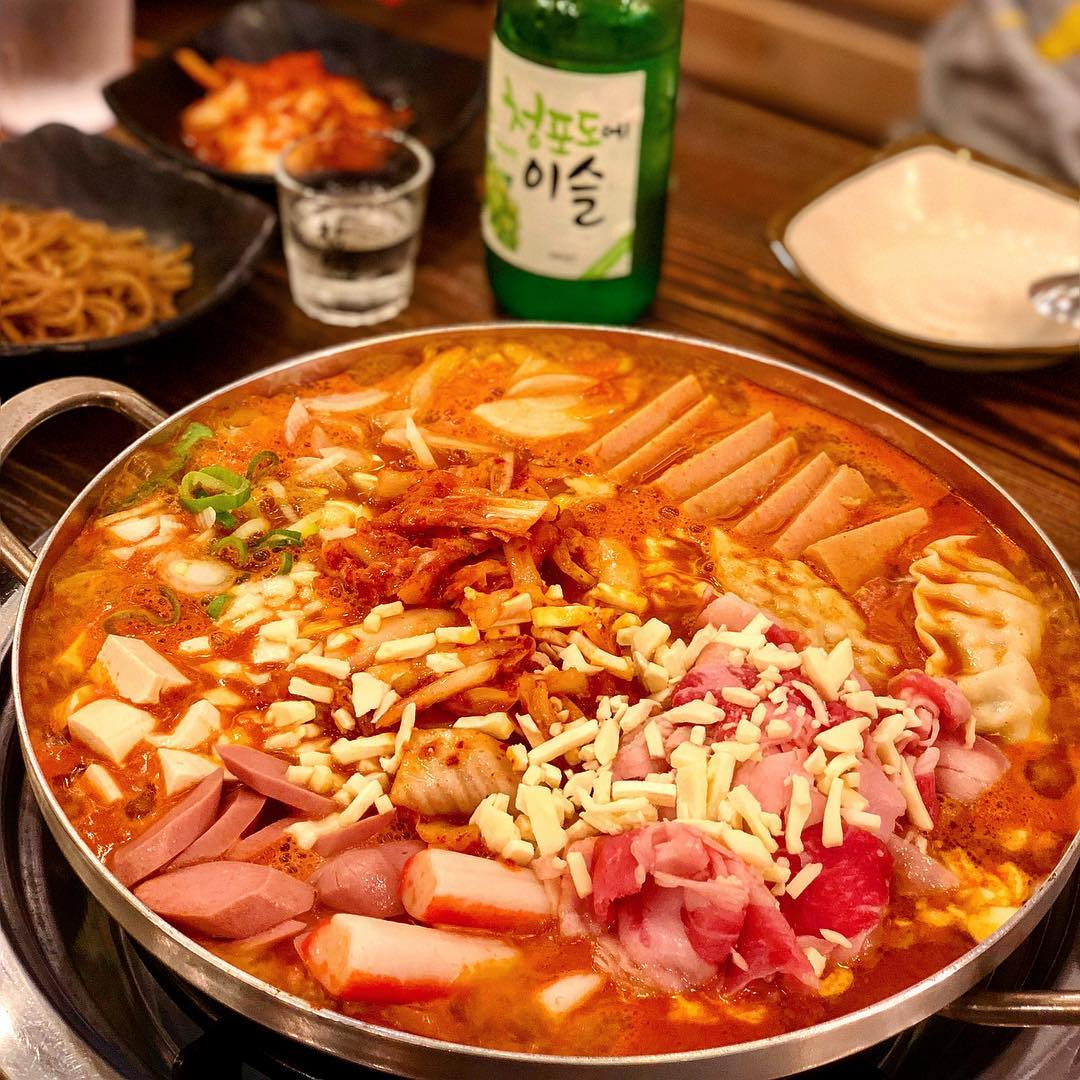 Army stew - Daejon house