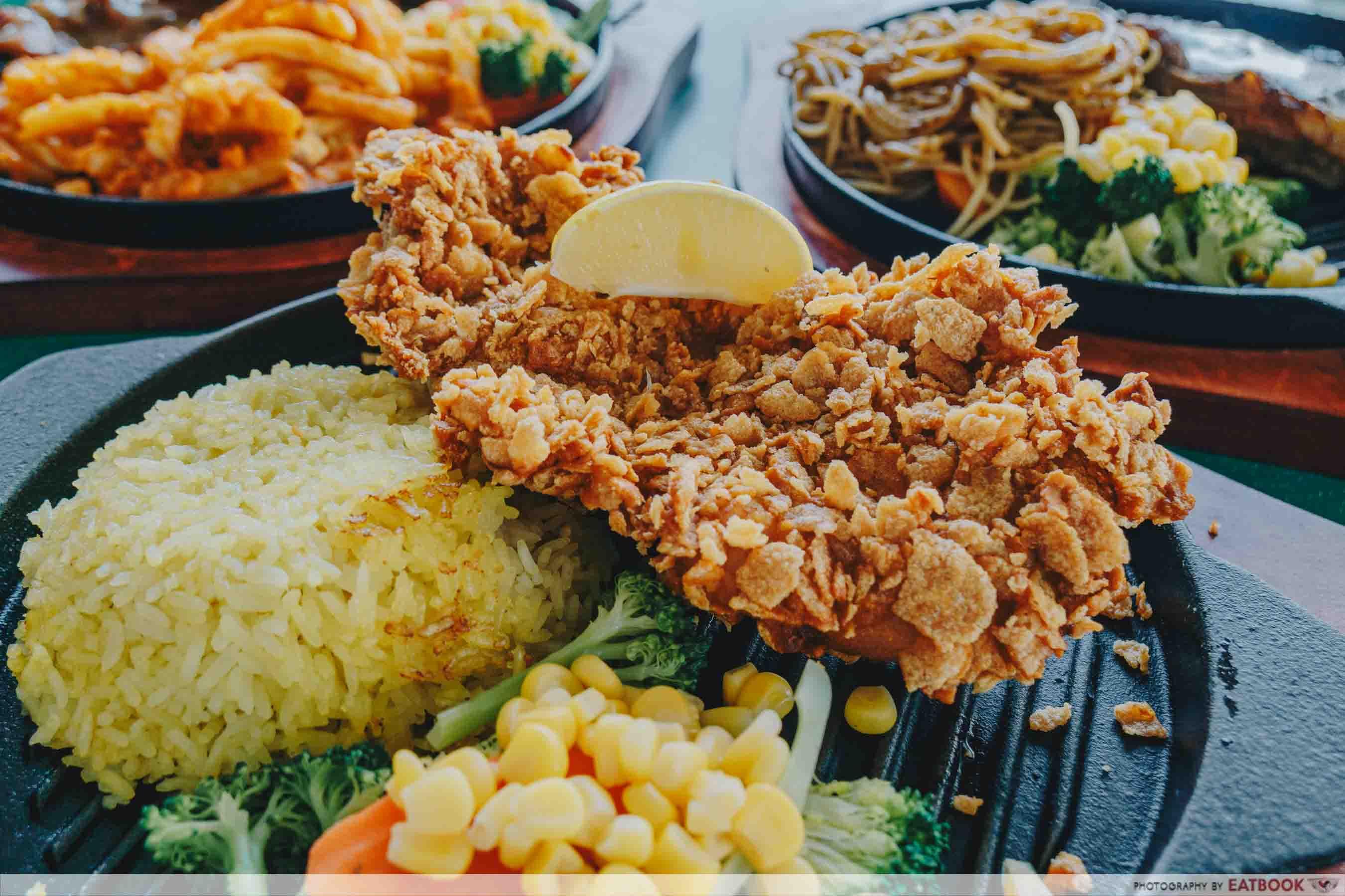 BIG BOYS Sizzling - Cornflake chicken