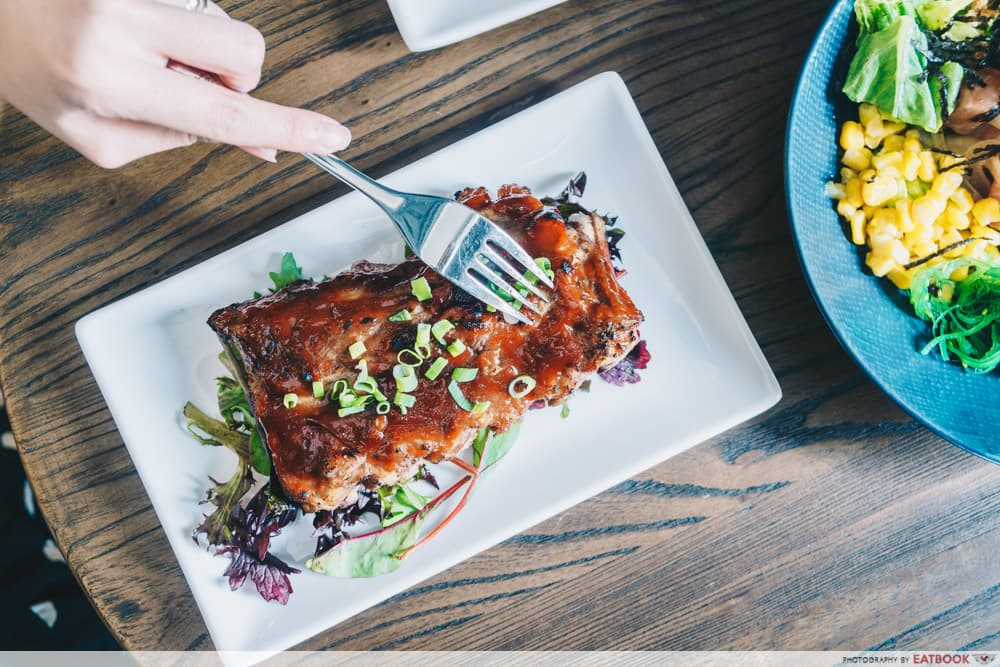Black Fairy Coffee Pork Ribs