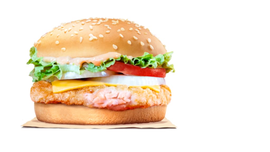 Burger King - Salmon Mentaiko Burger