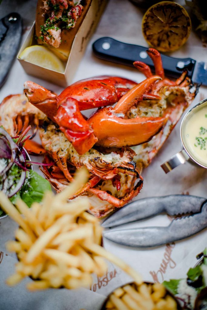 Burger & Lobster_Lobster & Lobster Roll Combo