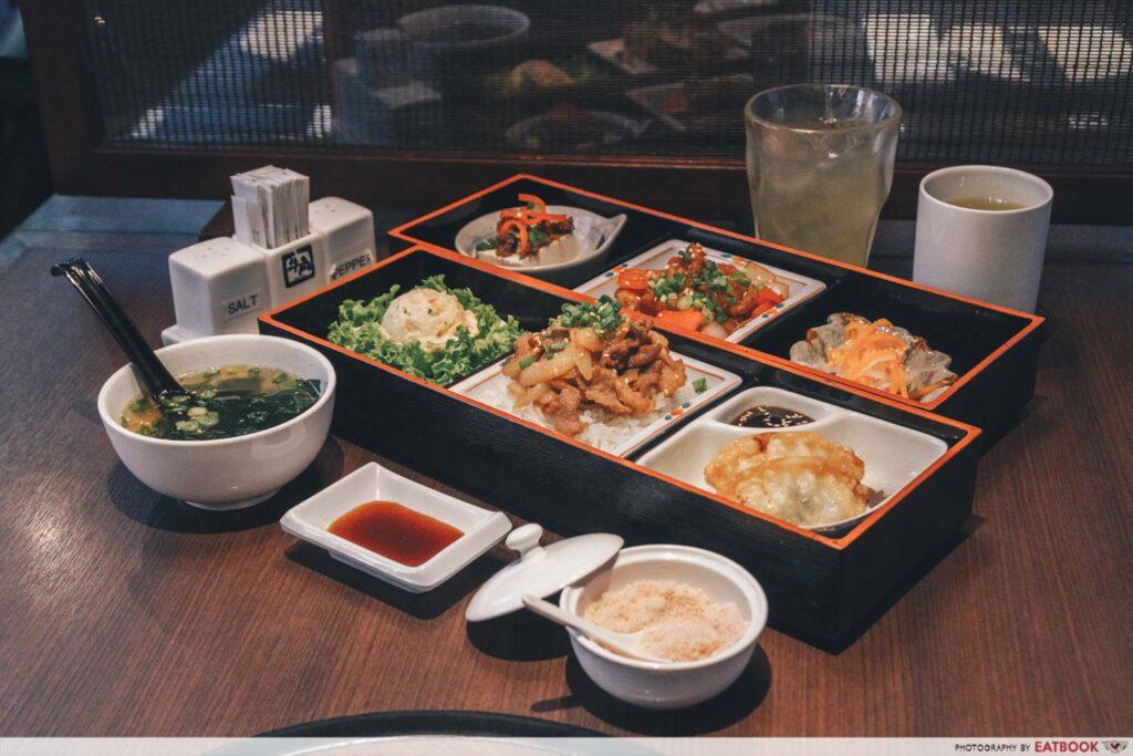 CHIJMES Gyu-Kaku Japanese BBQ Restaurant bento set