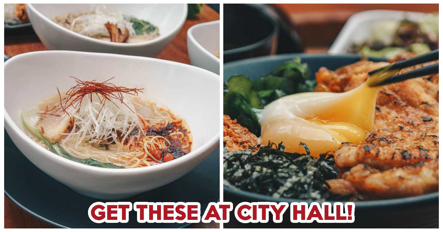 10 Lunch Lobangs At City Hall Including $11 90++ Set Meals And 1-for
