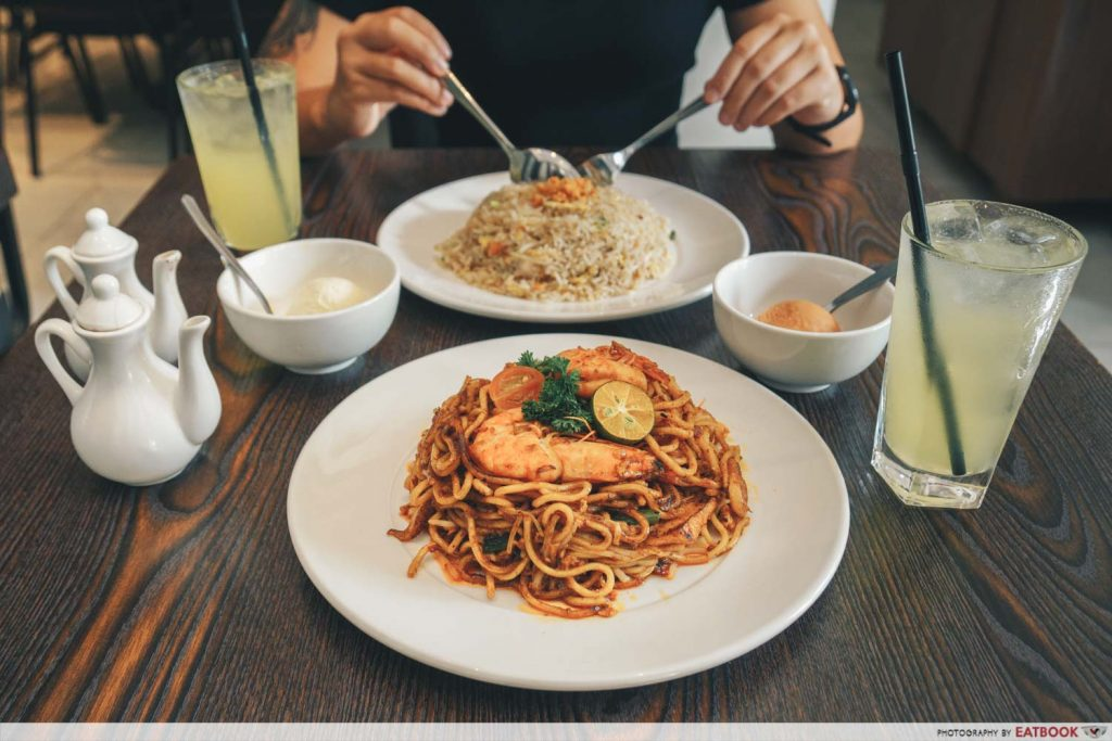 CHIJMES New Ubin Lunch