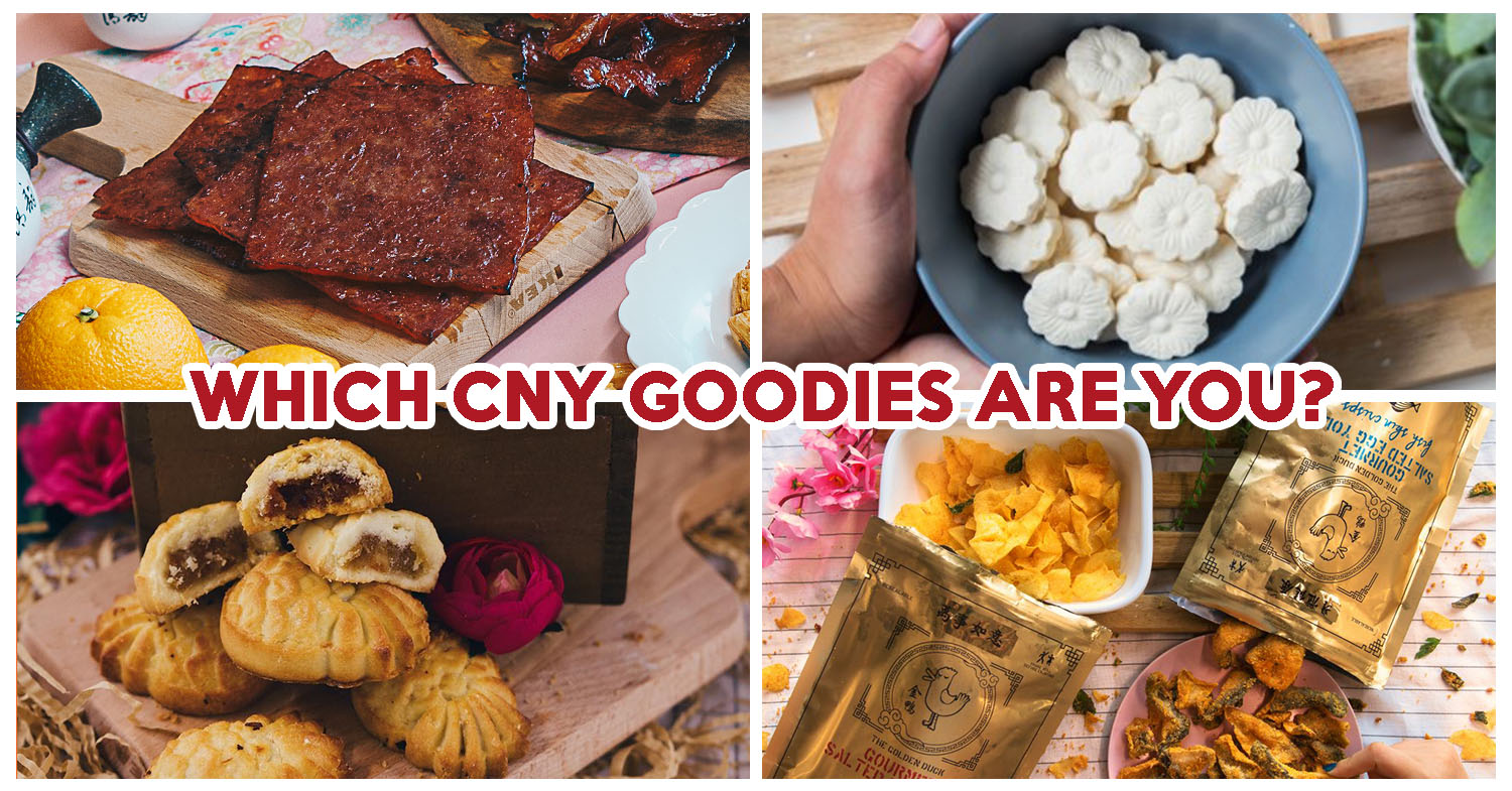 Eatbook Quiz: Which CNY Goodies Are You? - EatBook sg