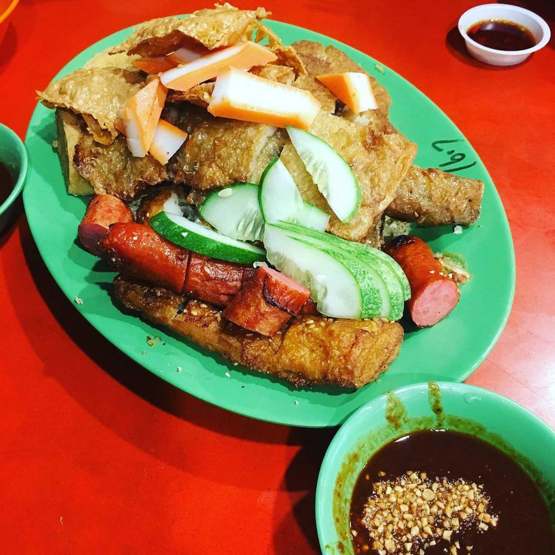 Choa Chu Kang Food - Hock Lian Huat Ngoh Hiang Prawn Cracker