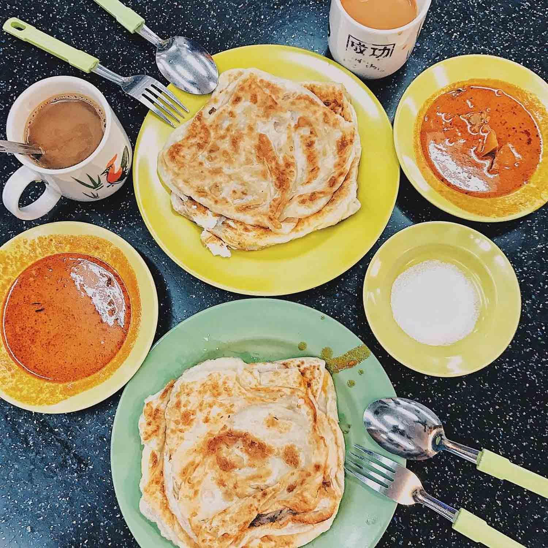 Choa Chu Kang Food - Tasty Roti Prata