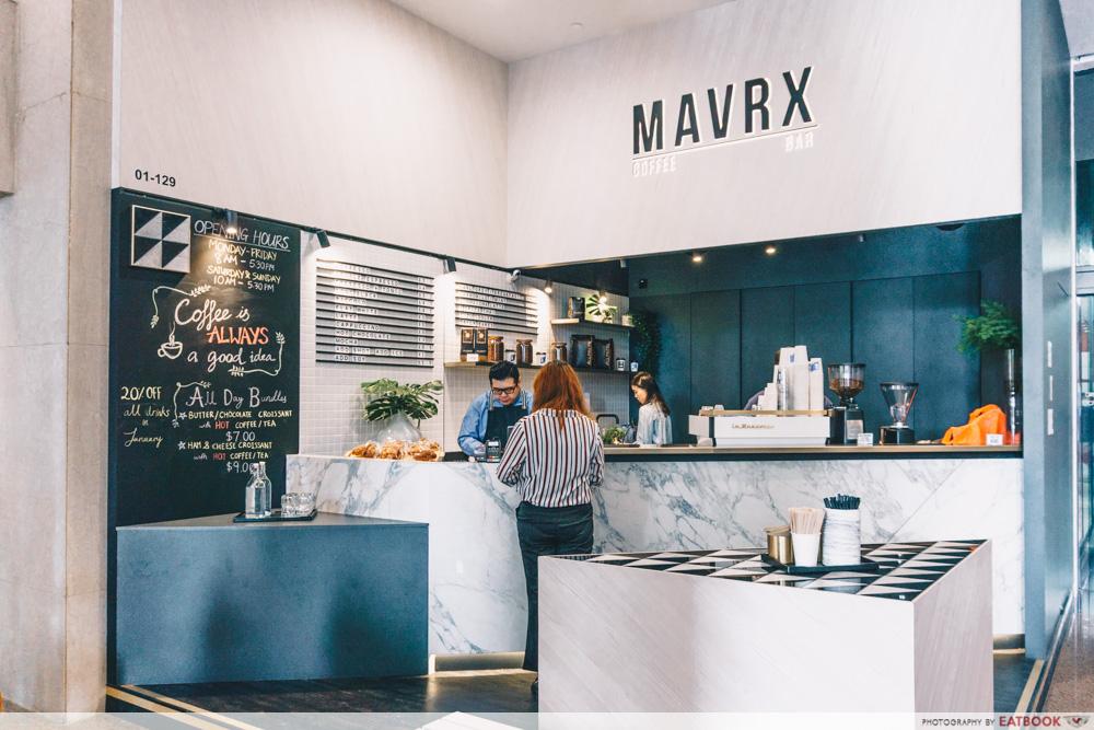 Great World City - MAVRX Coffee Bar