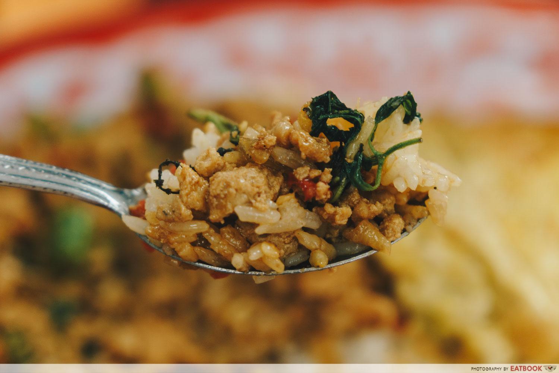Im Thai Kitchen - Thai Basil Chicken Spoonful