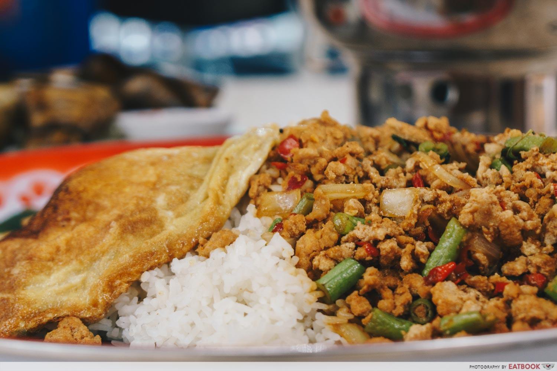 Im Thai Kitchen - XXL Thai Basil Chicken Rice
