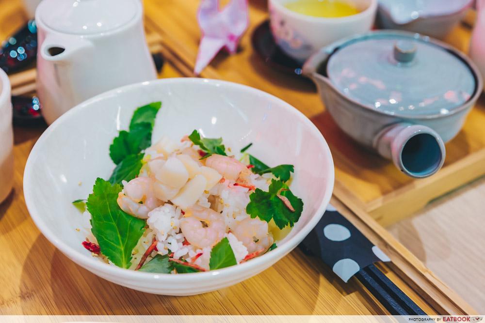 Inspiration Store - Shrimp and Scallop Ochazuke