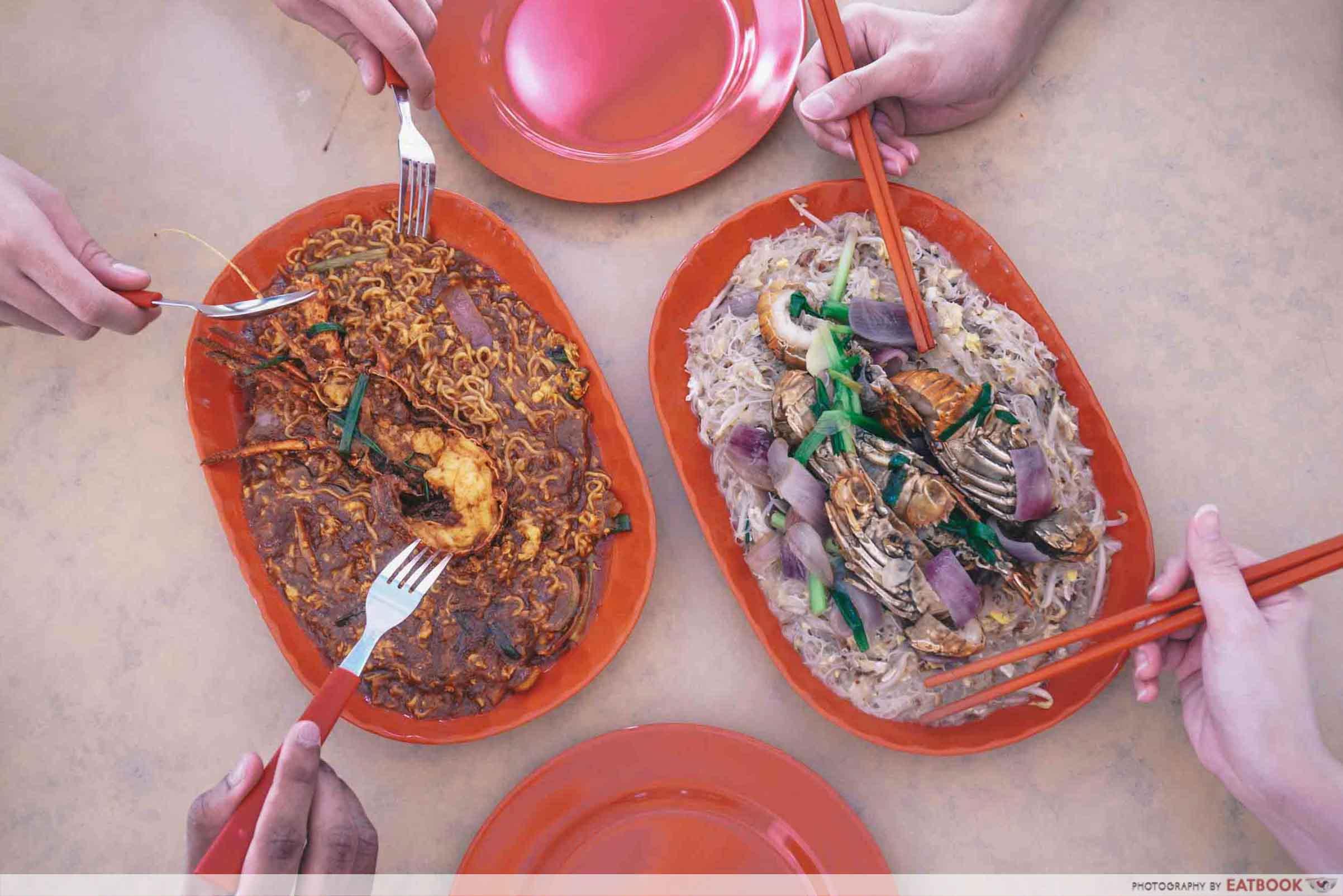 Jom Makan BBQ Seafood - Flatlay