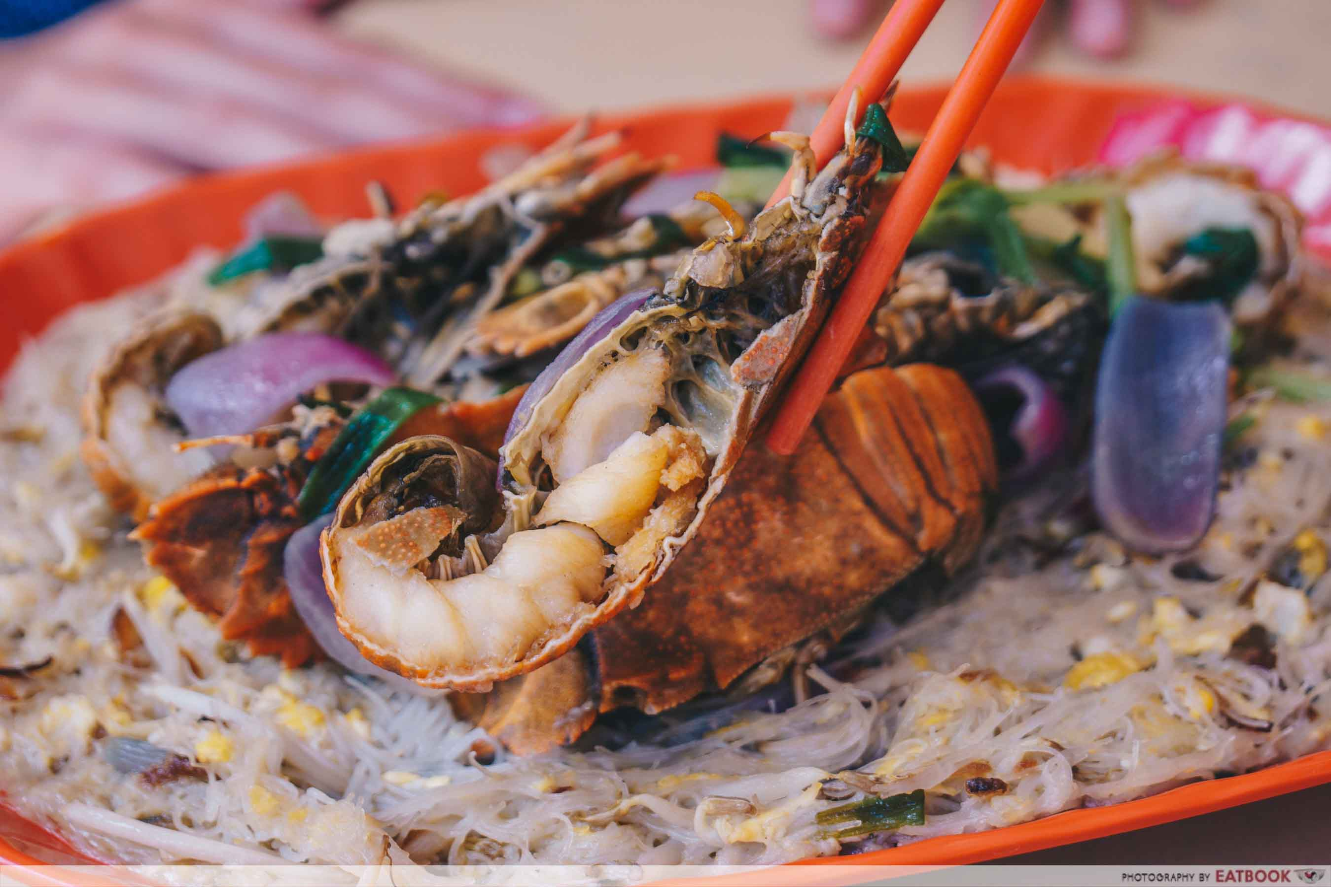 Jom Makan BBQ Seafood - Crayfish Close Up