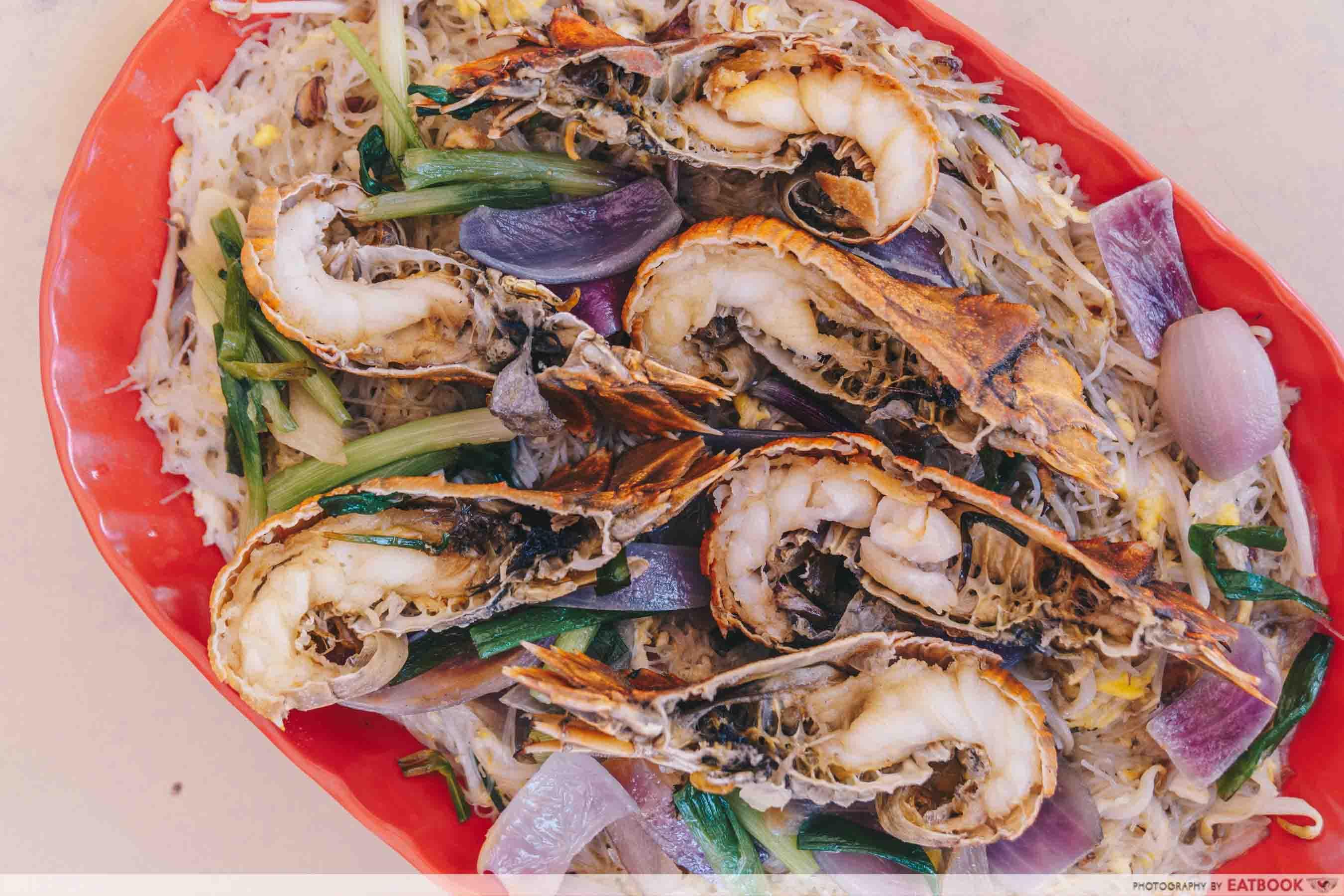 Jom Makan BBQ Seafood - Crayfish Intro Shot