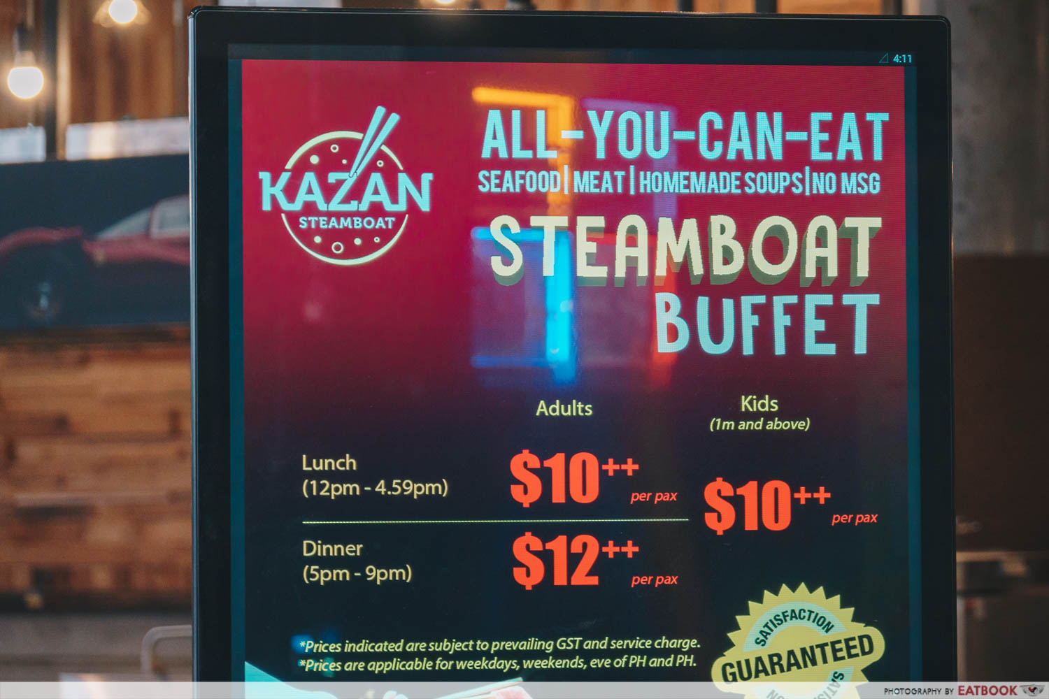 Kazan Steamboat - Prices