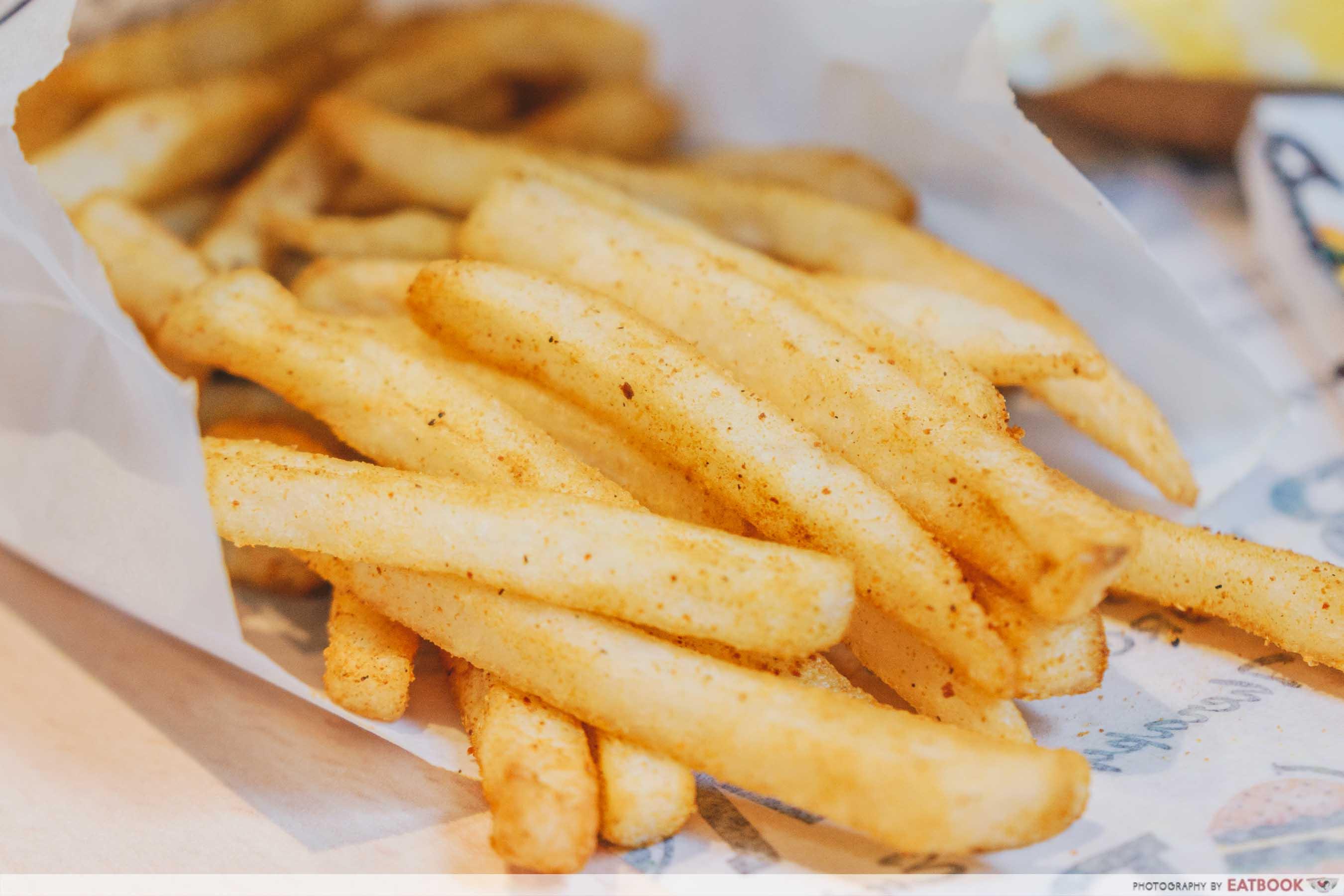 Ministry of Burgers -Special Biryani Fries