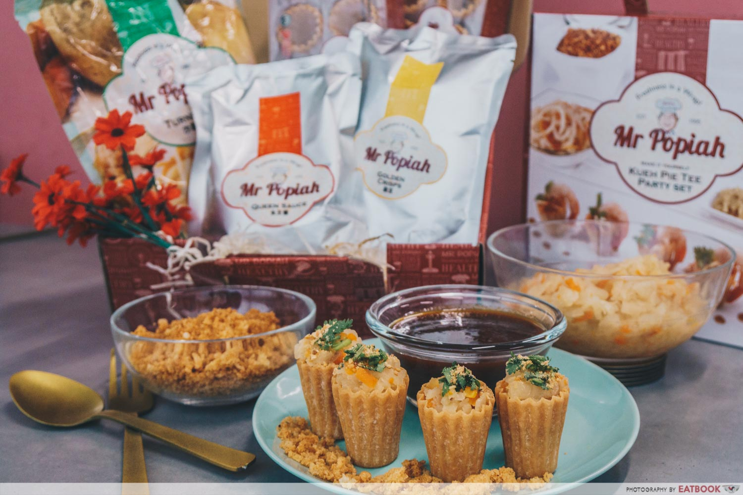 Mr Popiah - Kueh Pie Tee Set