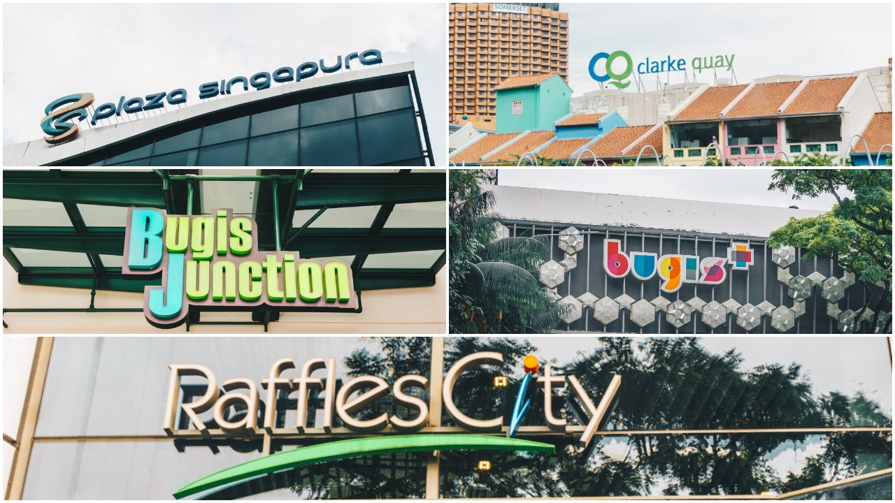 Popular overseas food stores Capitaland malls