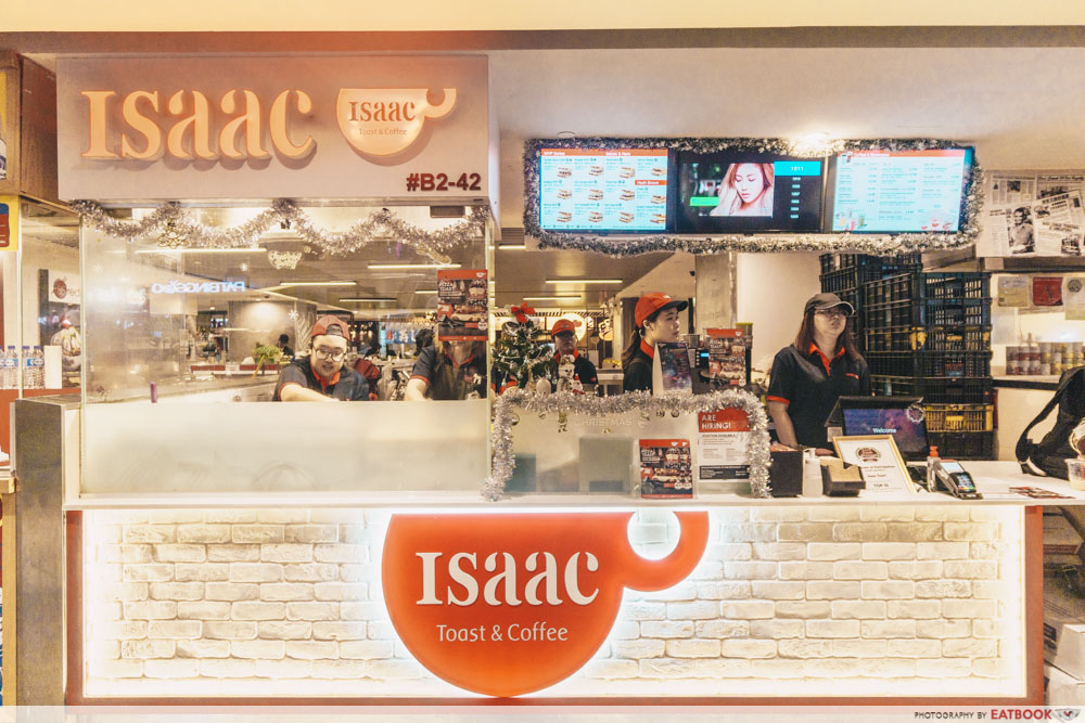 Popular overseas food stores Isaac Toast Singapore