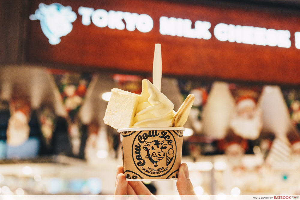 Popular overseas food stores Tokyo milkcheese factory