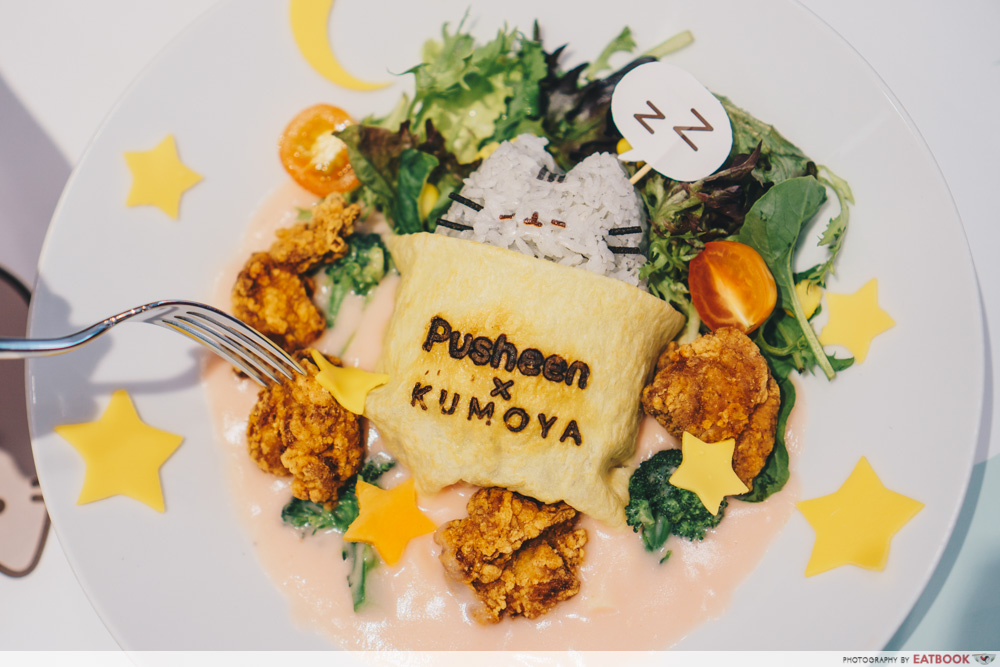 Pusheen Cafe - Creamy Japanese Rice