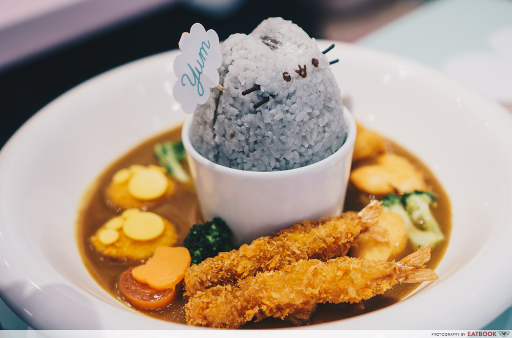 Pusheen Cafe - Curry Rice