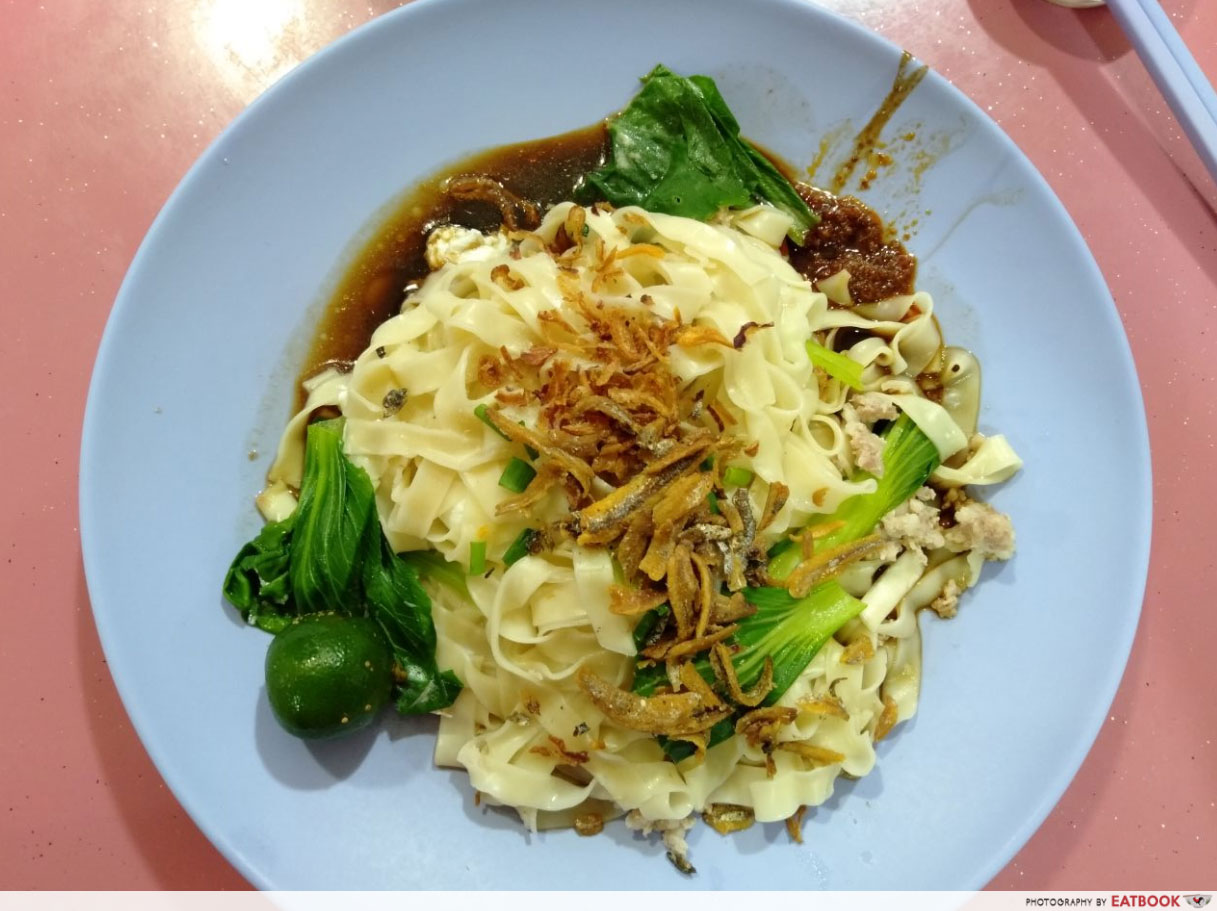 ban mian 憶玲手工面 Handmade Noodles @ Serangoon North