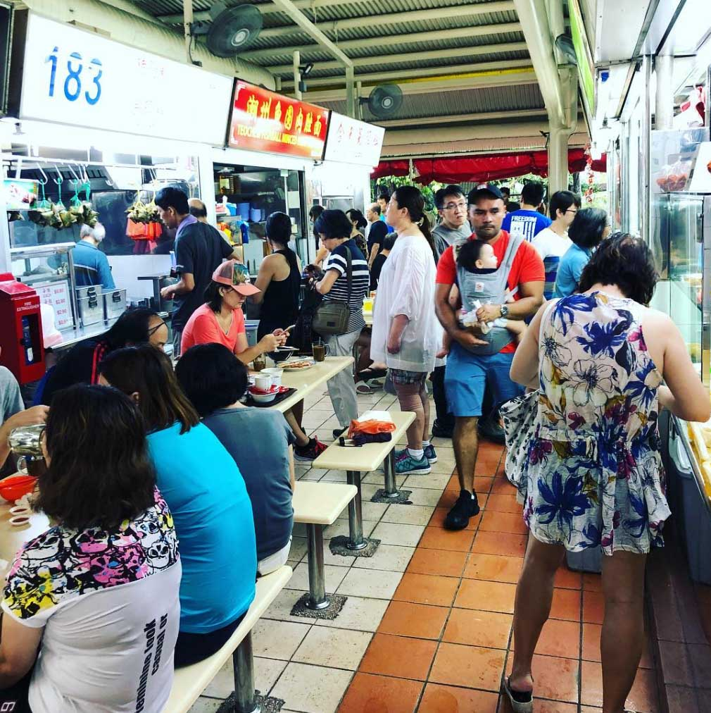 hawker centres west bukit timah food centre