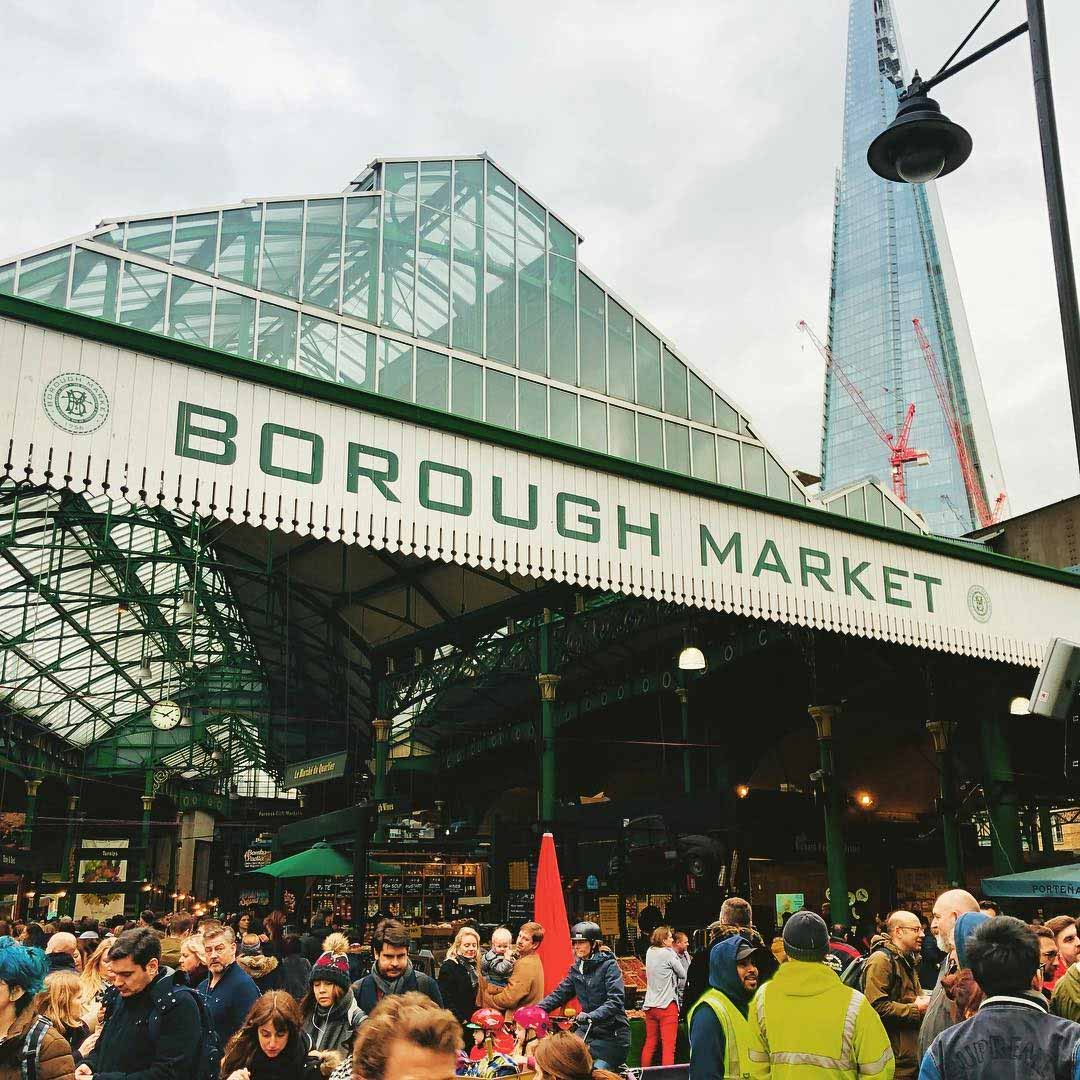 london dishes borough market