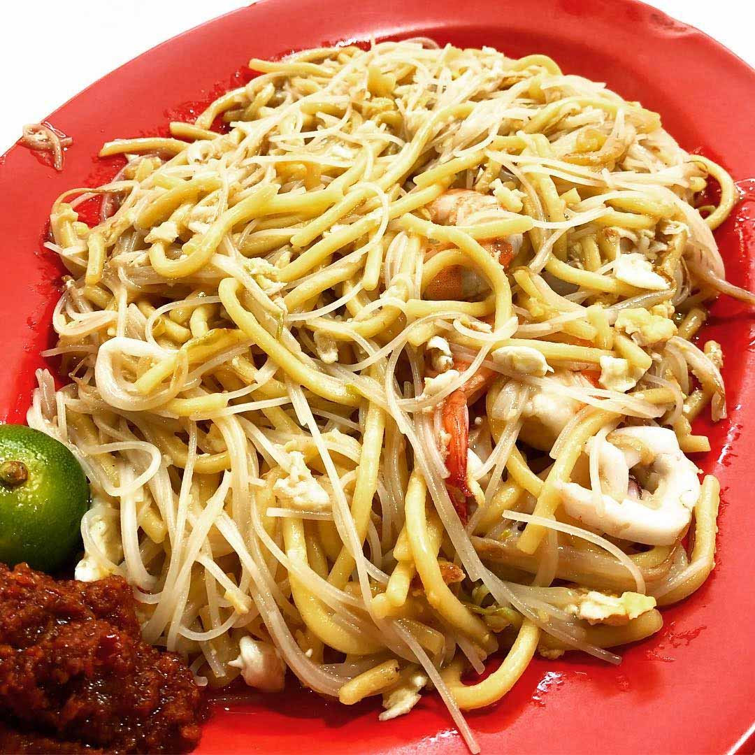 north-east supper spots ah hock fried hokkien mee