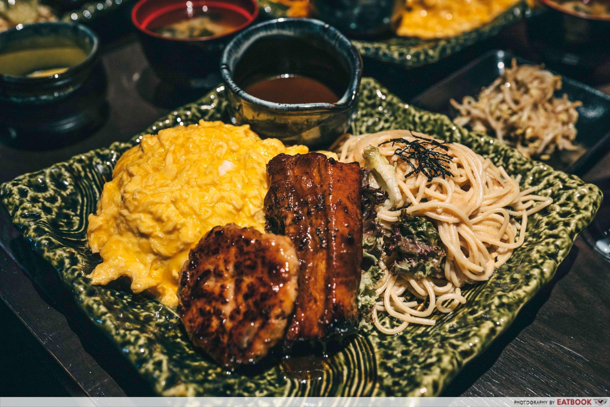 omurice keisuke meat