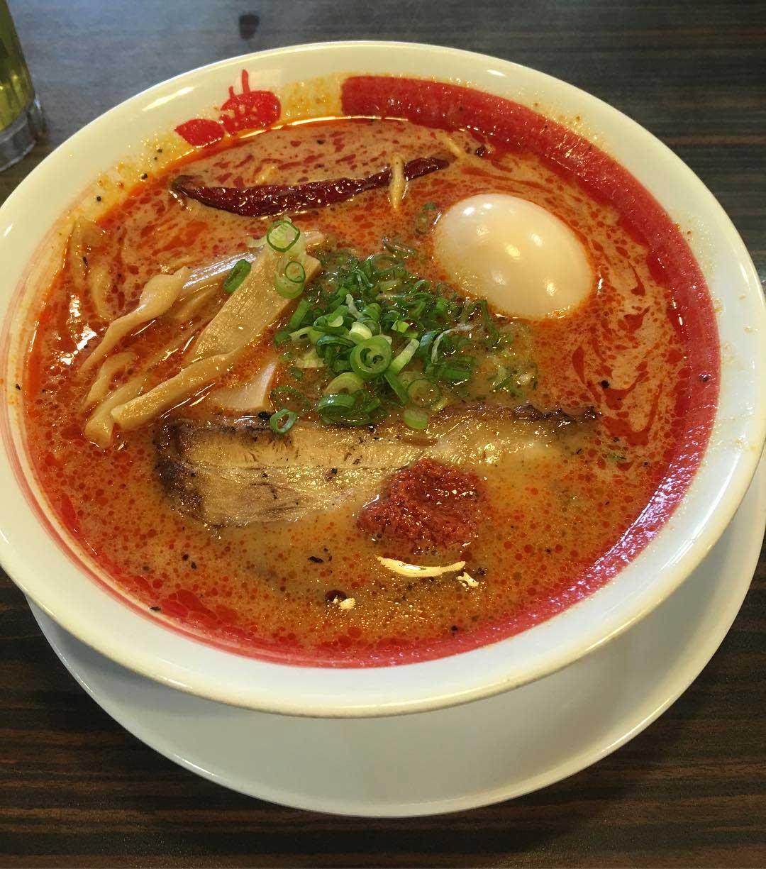 spicy ramen ramen bari-uma