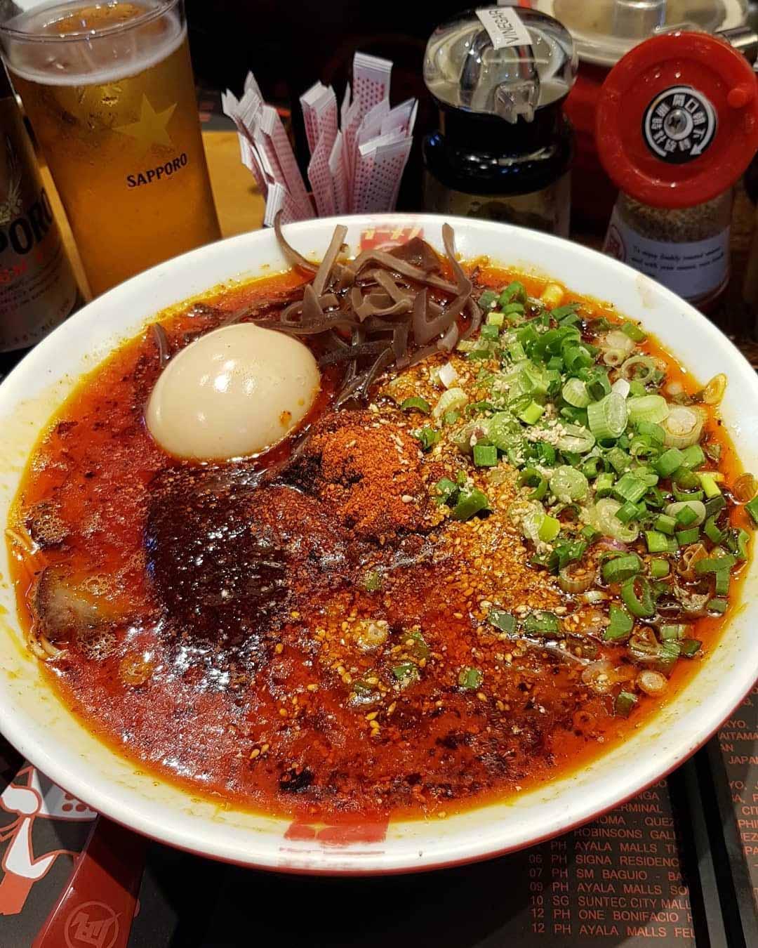 spicy ramen ramen nagi