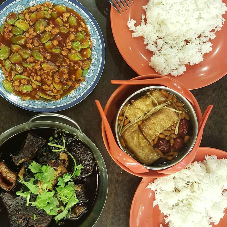 Yew Tee Food - San De Green Vegetarian